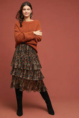 Traffic People Tiered Tiger Skirt