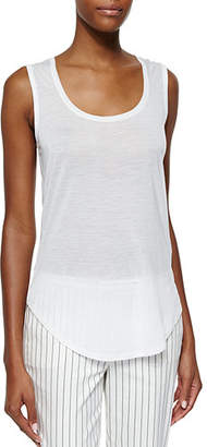 ATM Anthony Thomas Melillo Sweetheart Jersey Knit Tank Top
