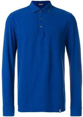 Drumohr longsleeved polo shirt
