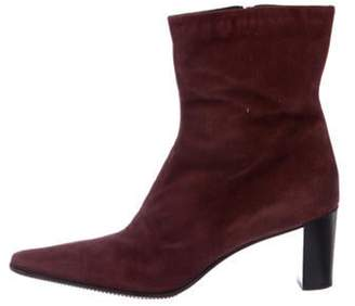 Aquatalia Suede Ankle Boots Suede Ankle Boots