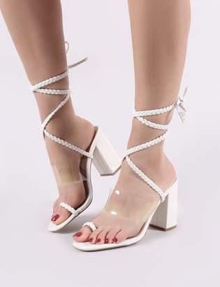 b5f4d421cd8 Public Desire White Sandals For Women - ShopStyle UK