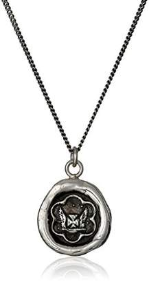 "Pyrrha talisman"" Sterling Be True To Yourself Necklace"