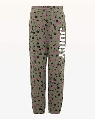 Juicy Couture JXJC Stenciled Juicy Print Pant