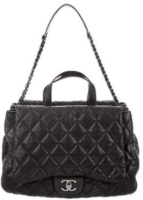 Chanel Lambskin Double Sided Shoulder Bag Black Lambskin Double Sided Shoulder Bag