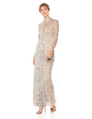 Parker Women's Leandra Long Sleeve Beaded Gown