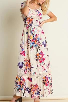 Umgee USA Floral Maxi