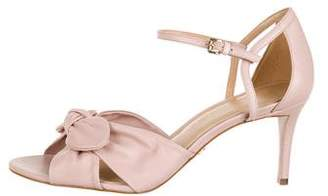 MICHAEL Michael Kors Leather Ankle Strap Sandals w/ Tags