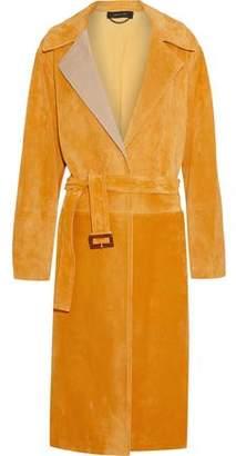 Derek Lam Belted Suede Coat