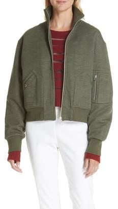 Rag & Bone Wool Blend Aviator Jacket