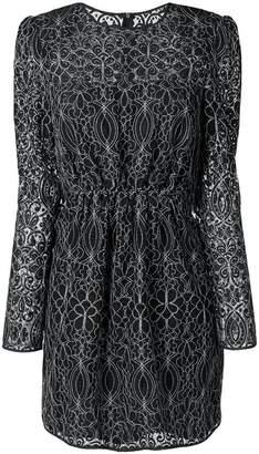 Pinko long-sleeved mini dress