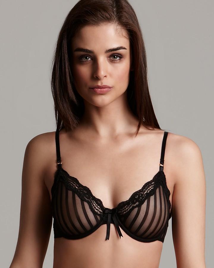 Elle Macpherson Intimates Bra - Sheer Ribbons Unlined Underwire