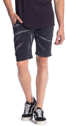 Neff Acid Wash Sweat Shorts