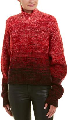 Helmut Lang Turtleneck Wool-Blend Sweater