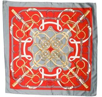 Hermes Eperon D'Or Scarf