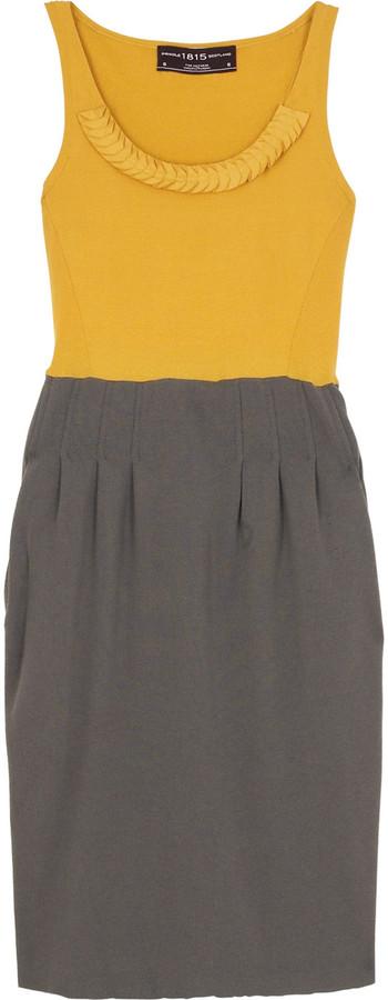 Pringle 1815 Bi-color tank dress