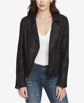 William Rast Faux-Leather Moto Jacket