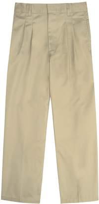 Boys 8-20 Husky French Toast School Uniform Modern-Fit Adjustable-Waist Double-Knee Pleated Pants