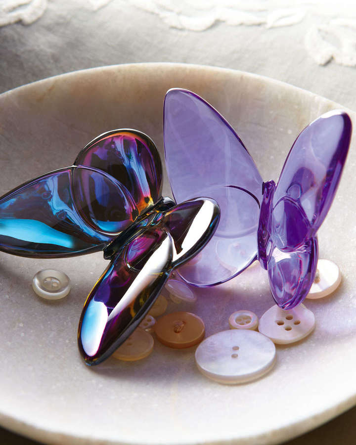 Baccarat Lucky Butterfly, Parma Violet