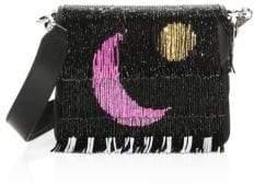 Les Petits Joueurs Bibi Luna Finge Leather Mini Bag