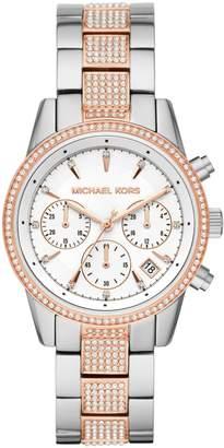 Michael Kors Ritz Stainless Steel Bracelet Watch