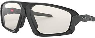Oakley Men's Field Jacket Non-Polarized Iridium Rectangular Sunglasses