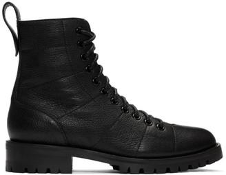 Jimmy Choo Black Cruz Flat Boots