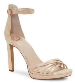 Vince Camuto Beresta Stiletto Heel Ankle-Strap Sandals