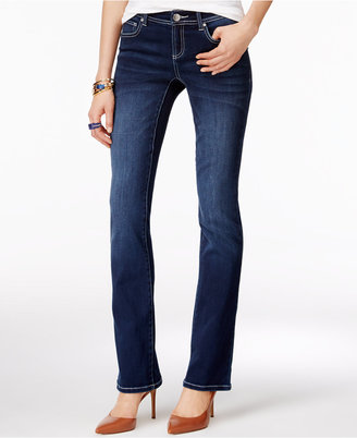INC International Concepts Curvy-Fit Bootcut Jeans, Only at Macy's $69.50 thestylecure.com