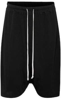 Rick Owens cotton shorts