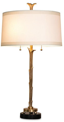 Global Views Organic Table Lamp - Antiqued Brass