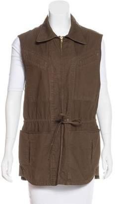 A.L.C. Zip-Up Collared Vest