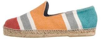 Stubbs & Wootton Canvas Patterned Espadrilles w/ Tags