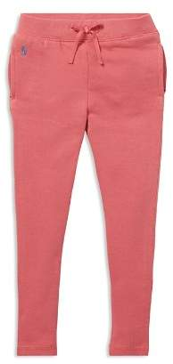Ralph Lauren Girls' French Terry Jogger Pants - Big Kid