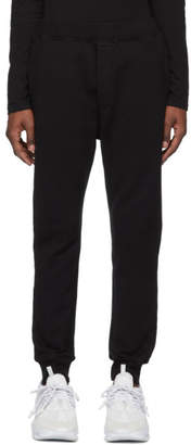 DSQUARED2 Black Slouch Fit Lounge Pants