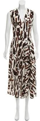 Zero Maria Cornejo Wave Maxi Dress w/ Tags
