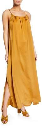 Knot Sisters Maxi Dress w\/ Adjustable Neckline
