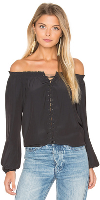 RAMY BROOK Jackie Off the Shoulder Top $325 thestylecure.com