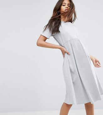 Asos Tall Ultimate Midi Smock Dress