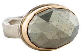 Jamie Joseph Pyrite Cocktail Ring silver Pyrite Cocktail Ring