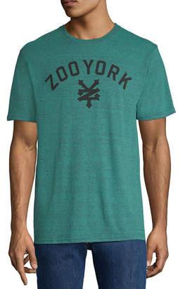 Zoo York Mens Crew Neck Short Sleeve Logo Graphic T-Shirt