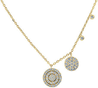 Sabrina Designs 14K 0.32 Ct. Tw. Diamond Necklace