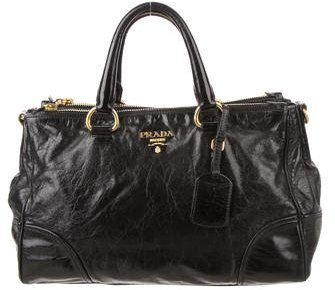prada Prada Vitello Shine Satchel