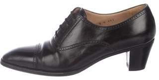 Gravati Brogues Leather Booties