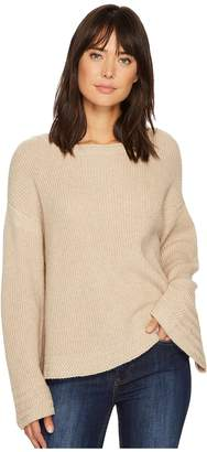 1 STATE 1.STATE Bell Sleeve Sweater w/ Stitch Detail Women's Sweater