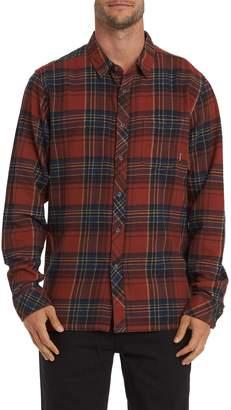 Billabong Freemont Flannel Button-Up Shirt