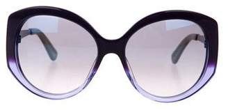 Christian Dior Extase 1 Mirrored Sunglasses