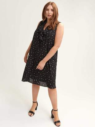 6888a4bea7bd Plus Size Black Swing Dress - ShopStyle Canada