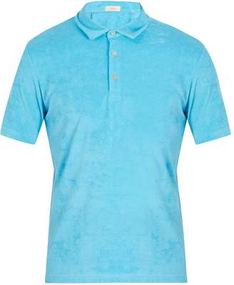 Altea Terry-towelling cotton-blend polo shirt