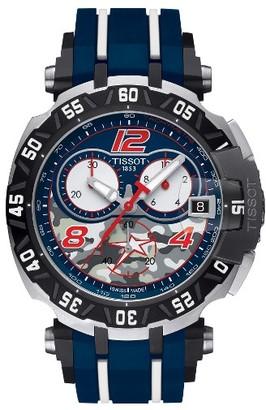 Men's Tissot T-Race Sport Chronograph Watch, 45Mm $925 thestylecure.com