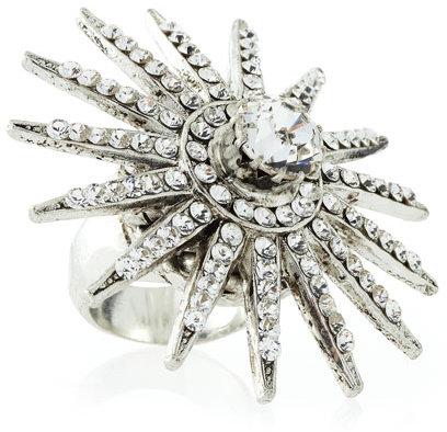 RODRIGO OTAZU Rhinestone Starburst Ring